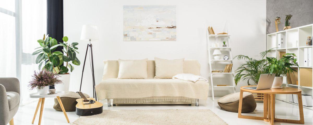 salon intérieur contemporain