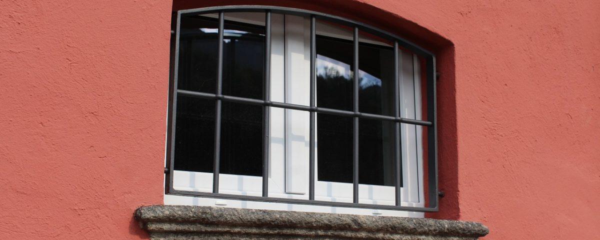 grilles de fenêtres sur mesure