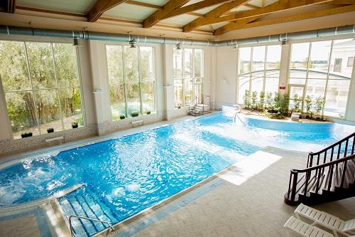 un local technique pour piscine.